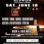 EVENTS: Third Annual Cricket on the Hill Reunion and Benefit for Denver Hospice