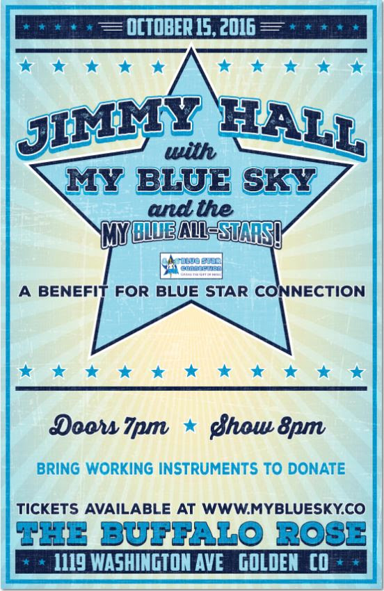 EVENTS: Blue Star Fundraiser at Buffalo Rose this Saturday, October 15th
