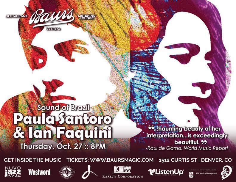 EVENTS: Baur's Listening Lounge Presents Brazilian Sound of Santoro and Faquini