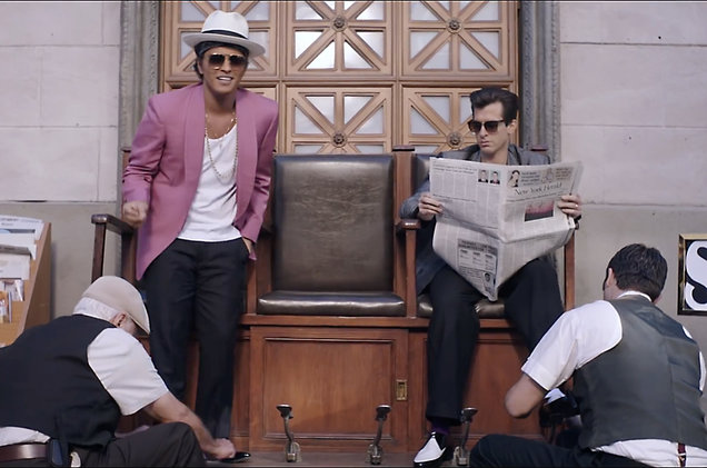 REPORTS: Mark Ronson, Bruno Mars Sued by Funk Band Collage Over 'Uptown Funk'
