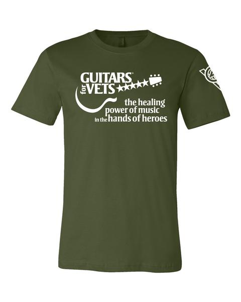 NEWS: Now Happening: Fund-Raising T-Shirts for Guitars for Vets