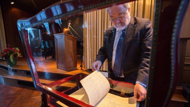 INTERESTING BITS: Gustav Mahler £4.5m Manuscript Breaks Record at Sotheby's