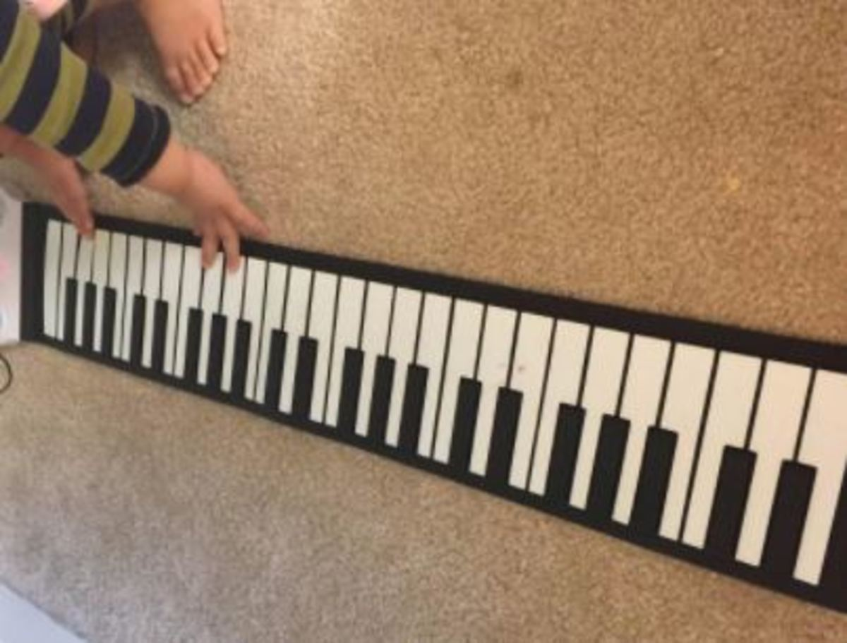 TALENT NEEDED: Perfect for Beginners – Small Homes: Piano Roll – Foldable Electronic Piano