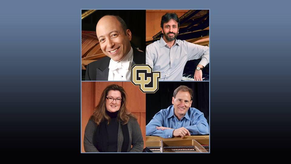 EVENTS: Schmitt Music Center Presents Master Class & Performance by CU Boulder Keyboard Faculty