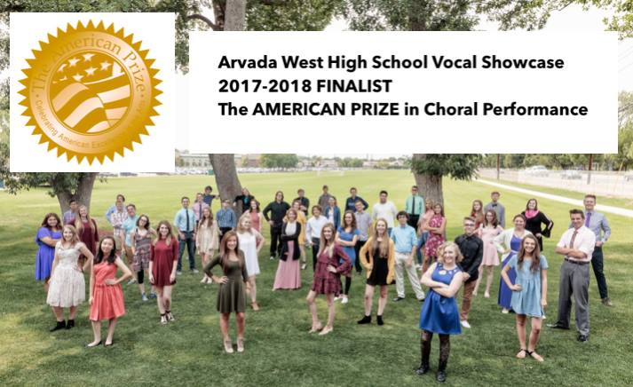 KUDOS: To Arvada West High School's Vocal Showcase – Finalist for American Prize
