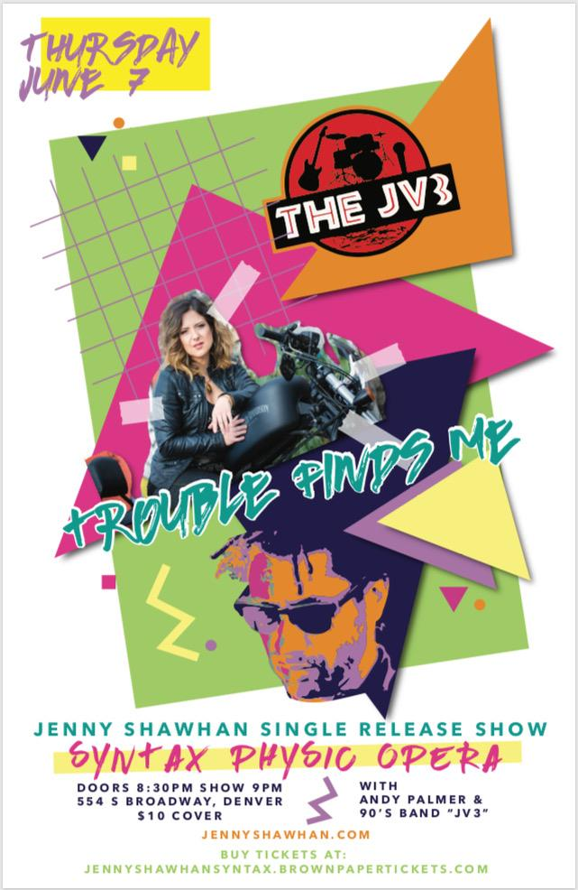 SONGWRITERS' CORNER: COMBO Member Jenny Shawhan Invites You to Her Single Release Show June 7th