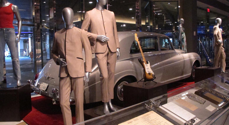 INTERESTING BITS: Elvis, Beatles Memorabilia Items on Display at Hard Rock