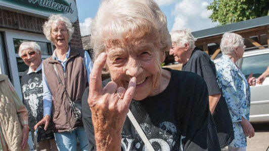 NEWS: 2 Elderly Men Escape Nursing Home to Attend Heavy Metal Music Festival in Germany