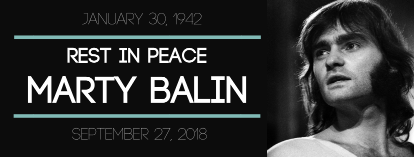 IN MEMORIAM: Marty Balin // Other Notable Musicians' Deaths