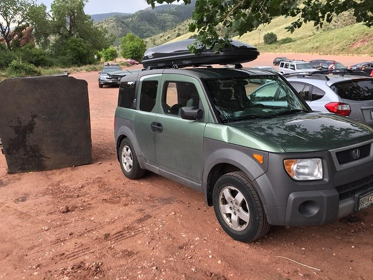REPORTS: Flying Toilet Damages Fan's Car at Red Rocks, Causes Literal Shit Storm