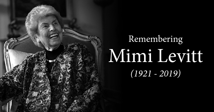 IN MEMORIAM: Mimi Levitt – Co-Founder of the Levitt Pavilions – passes; Eric Haydock (The Hollies); Alan Perlman (inventor) // Other Notable Musicians' Deaths