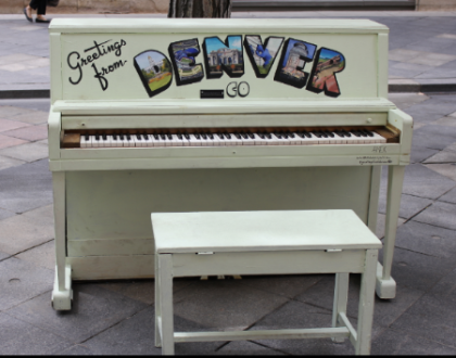 TALENT NEEDED: Calling All Artists! Denver Wants To Paint 5 Pianos On 16th Street Mall