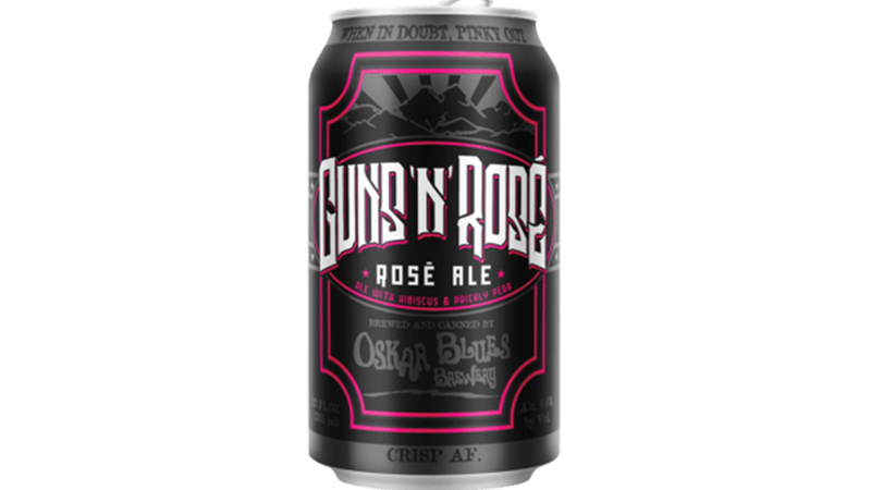 BUSINESS NEWS: Guns N' Roses Sues Oskar Blues Over Their 'Crispy AF' Guns 'N' Rosé Beer