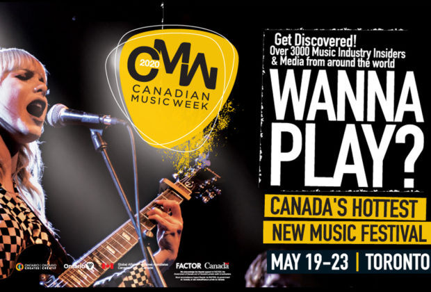 TALENT NEEDED: Perform at the Canadian Music Week Showcase 2020