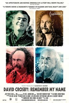 EVENTS: COMBO's Next General Meeting? Pop-Up Movie Night on David Crosby at the Chez Artiste, Friday, August 9th