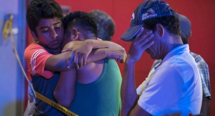 NEWS: Toll Rises to 28 in Mexico Bar Fire Attack