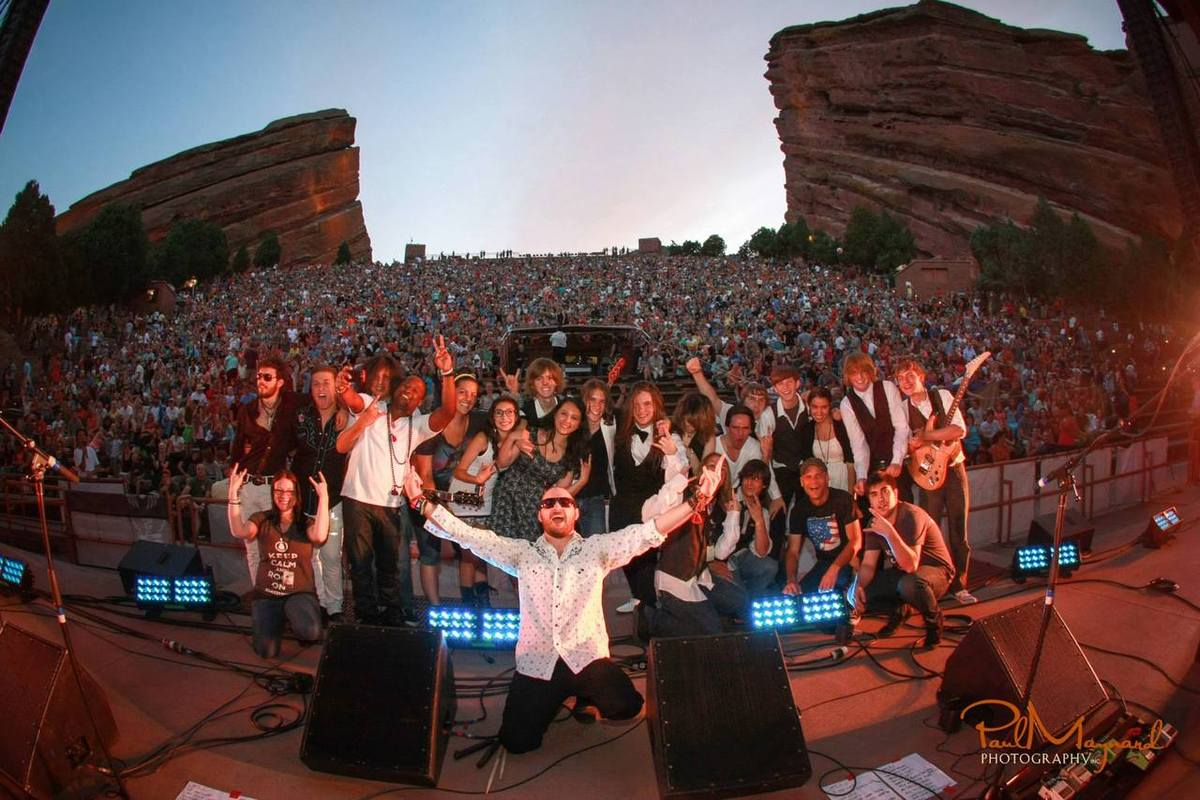EVENTS: Denver's School of Rock House Band to Play Red Rocks' Film on the Rocks