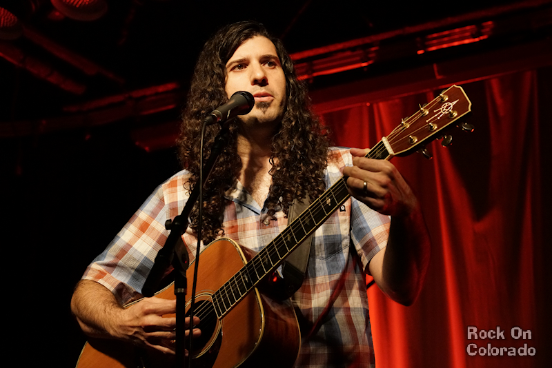 Christopher Ryan at COMBO Songwriters Showcase at Walnut Room