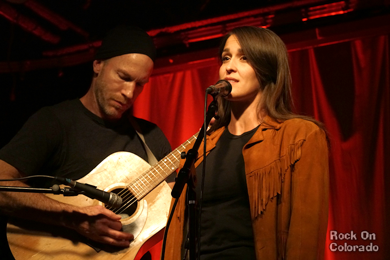 Sloan and Sonna Robison at COMBO Songwriters Showcase at Walnut