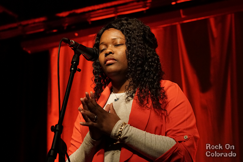 ReyMarie Flowers at COMBO Songwriters Showcase at Walnut Room