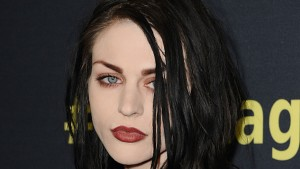 "HOLLYWOOD, CA - APRIL 21:  Frances Bean Cobain attends the premiere of HBO Documentary Films' ""Kurt Cobain: Montage Of Heck"" at the Egyptian Theatre on April 21, 2015 in Hollywood, California.  (Photo by Jason LaVeris/FilmMagic)"