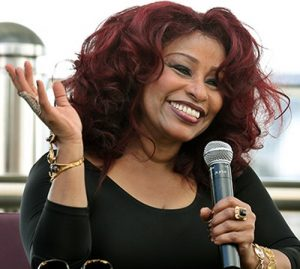 Prince's good friend and colleague Chaka Khan in 2014.
