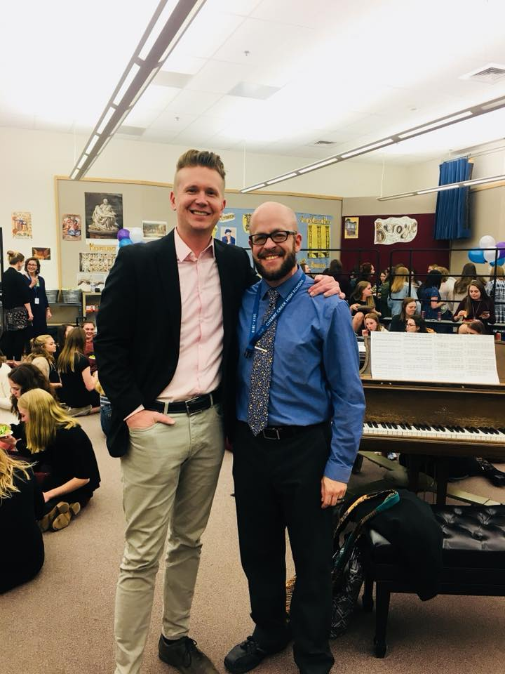 KUDOS: Arvada West High School Choir Director Chris Maunu Nominated for Grammy Music Educator of the Year
