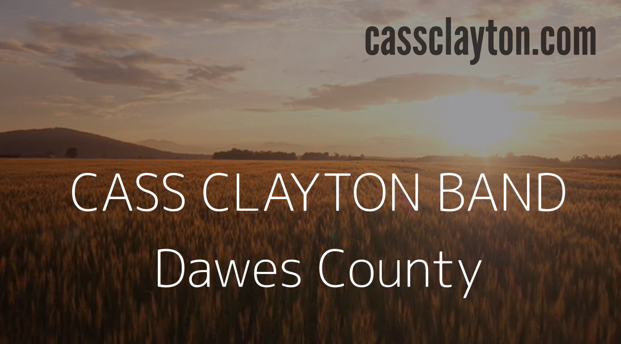 KUDOS: COMBO Member Cass Clayton Announces Her Video Dawes County