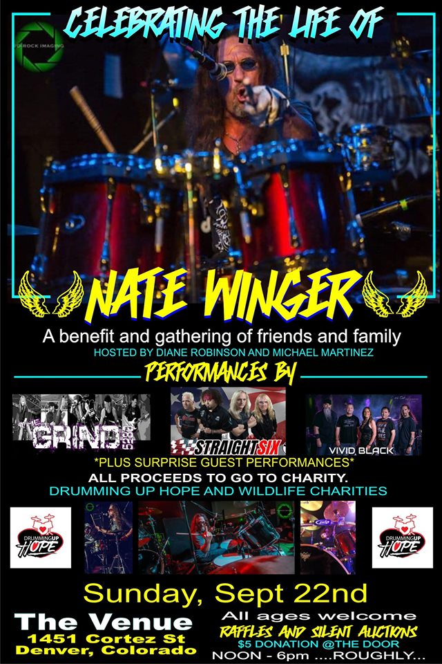 EVENTS: Celebration of Nate Winger's Life to be Held This Sunday at The Venue