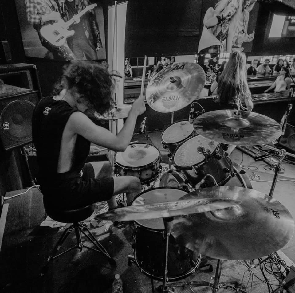 KUDOS:  … to Jason Kaplan on Sabian Cymbal Sponsorship