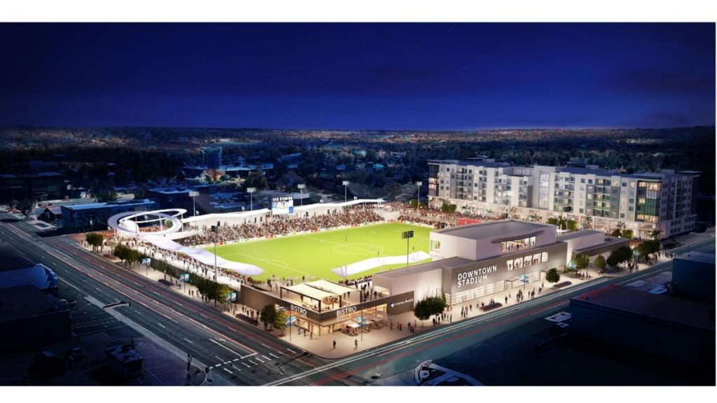 BUSINESS NEWS: City Council Approves 8000-seat Stadium in Downtown Colorado Springs