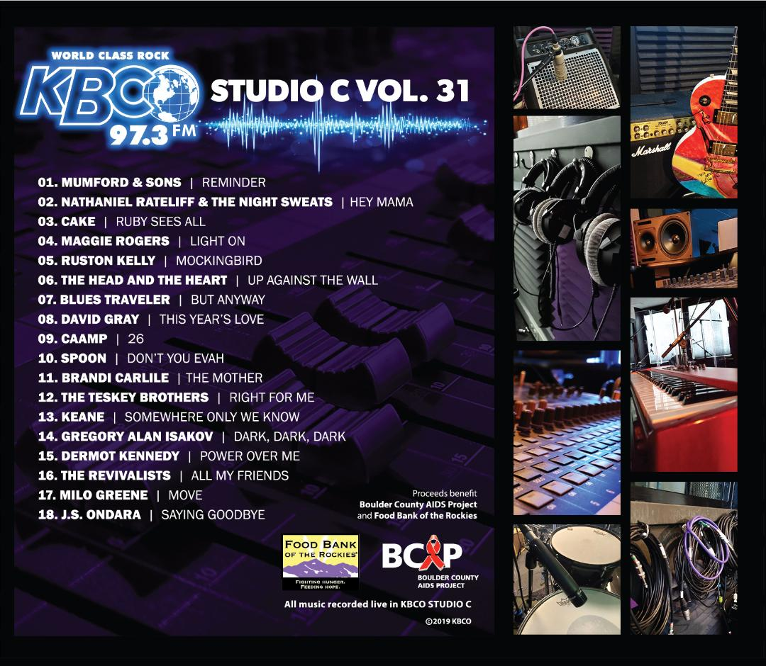 BUSINESS NEWS: KBCO Announces Studio C – Volume 31