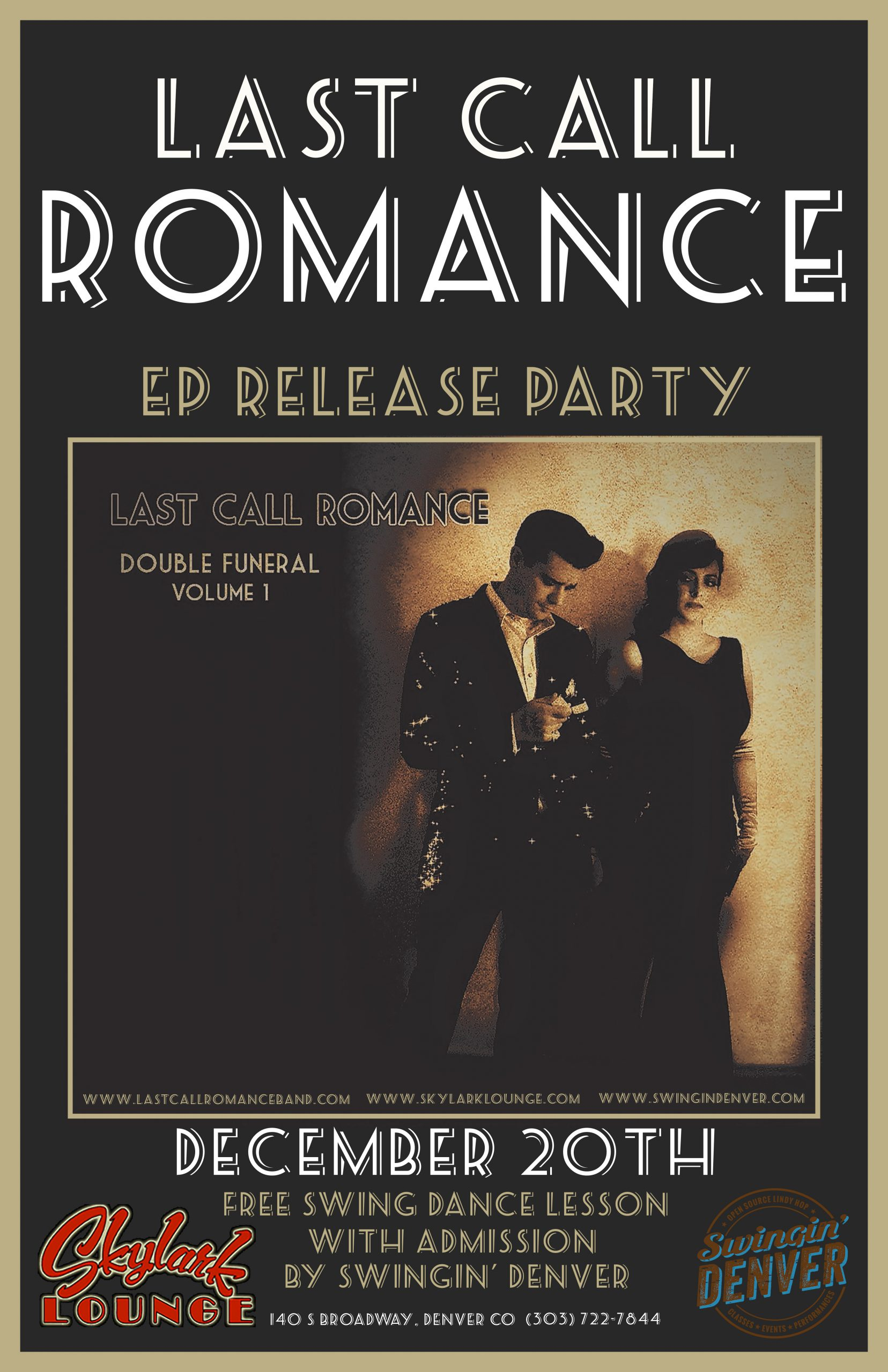 FEATURED MEMBER: New COMBO Members Last Call Romance Has EP Release Party Set in Denver Dec. 20th