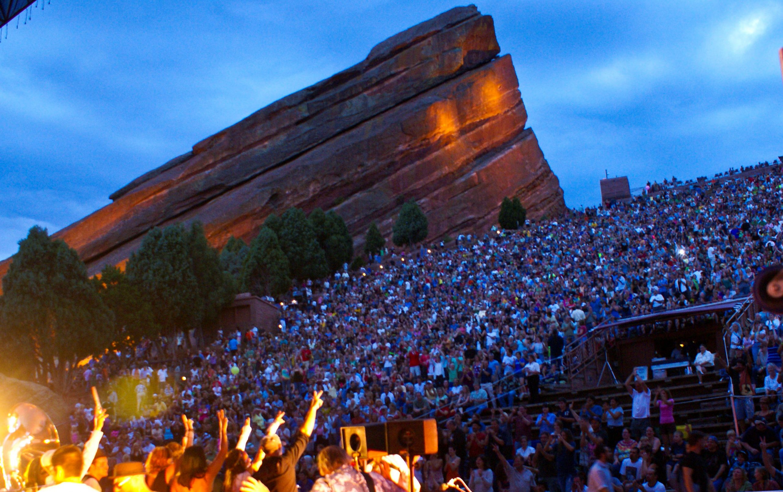 "BOOK OF THE MONTH: ""Red Rocks: The Concert Years"" by G. Brown"