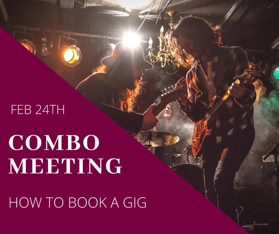 COMBO Meeting Feb24th