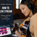 How to livestream - COMBO event