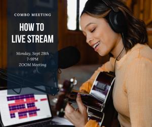 How to livestream - COMBO event