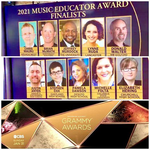 Chris Maunu Grammy photo