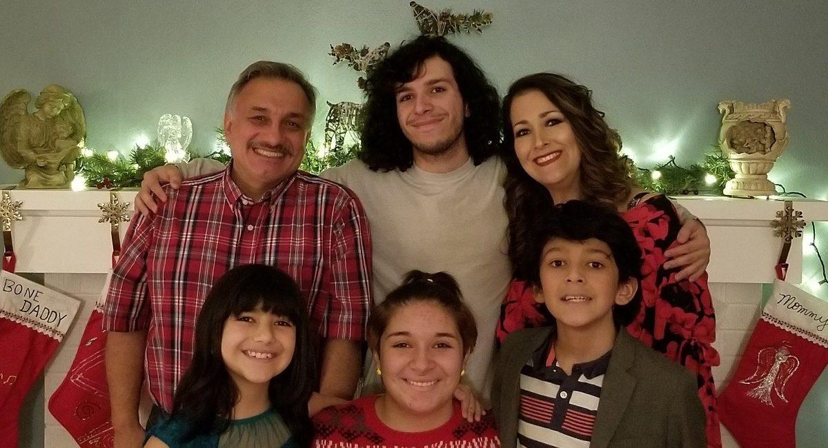 Frank Romero family