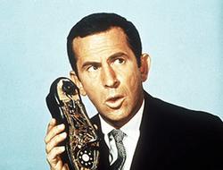 Don Adams, shoe phone,
