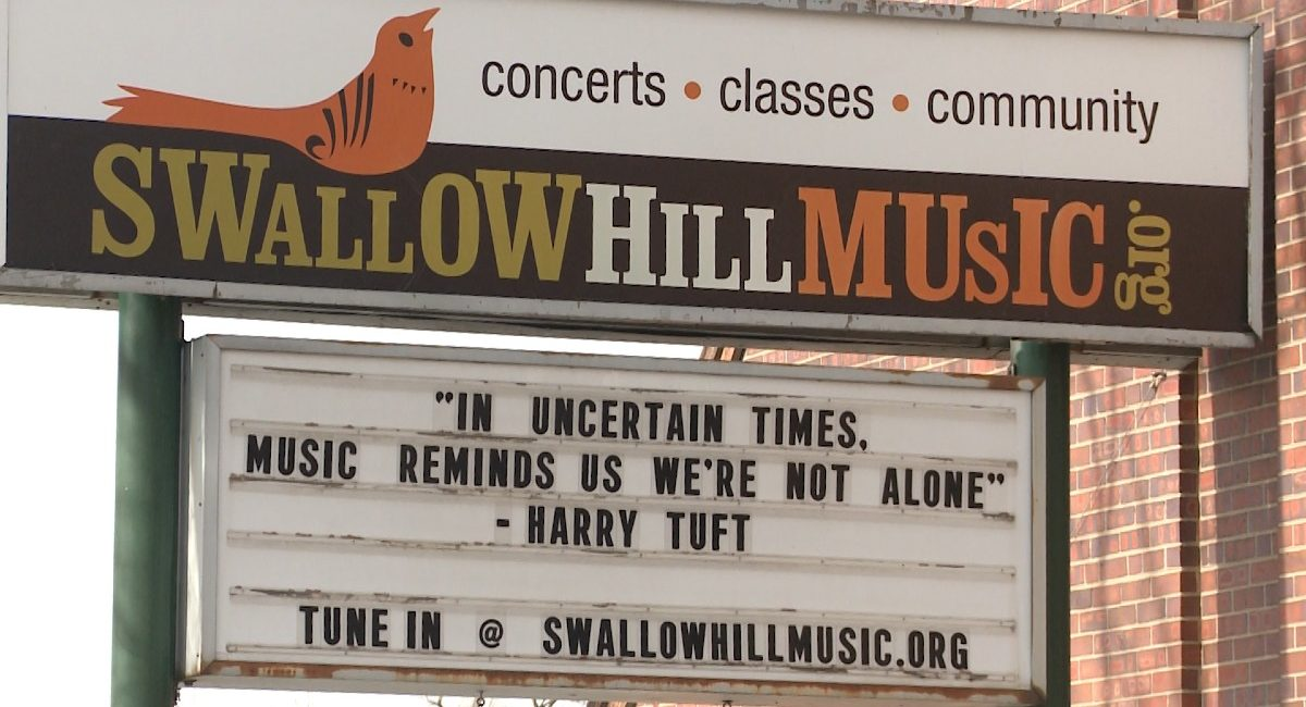 Swallow Hill marquee