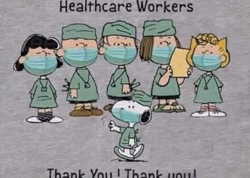 Thanks to health care workers